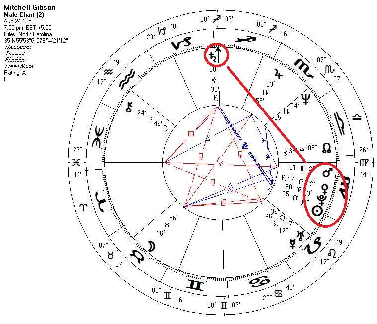 Dr Mitchell Gibsons Natal Chart Conscious Informer